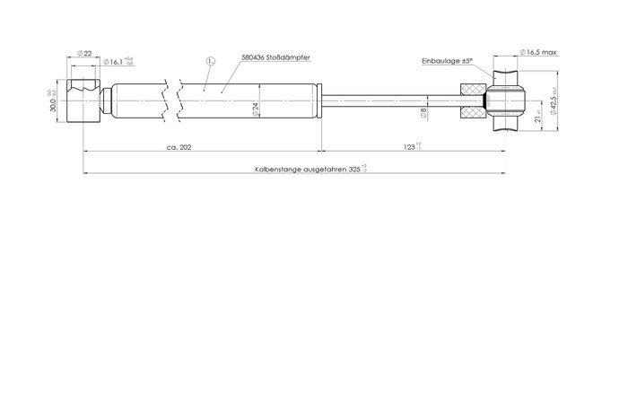 Amortizor frână inerțială AL-KO 161S 1600 kg - modelul vechi