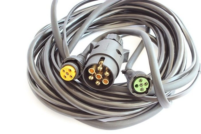 Cablaje pentru remorci ușoare, conector 7 pini