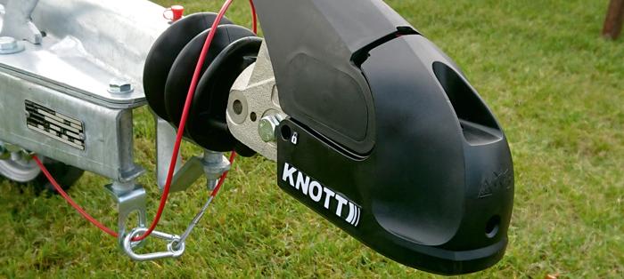 Cuplă remorcare remorci cu stabilizator KNOTT KS30 3000kg fi 35/40/45/50 mm