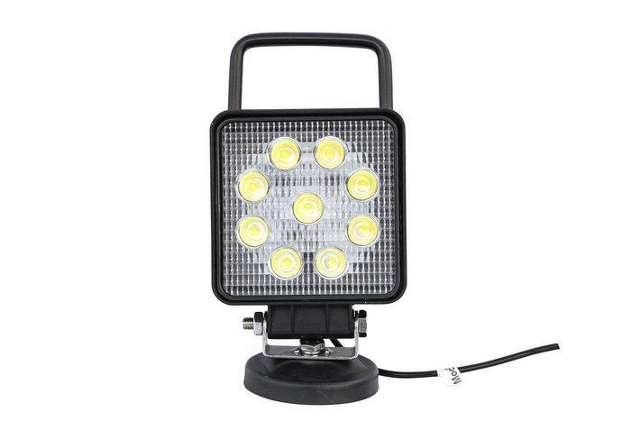 Lampă lucru pătrată laterală 9 LED 2150 Lm