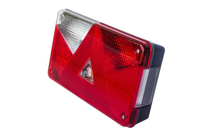 Lampă spate multifuncțională Aspöck Multipoint V LED stânga
