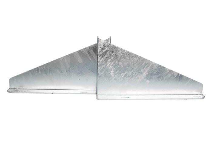 Mânerele laterale zincate TAKLER pentru un rezervor de 30 l - 2 buc.