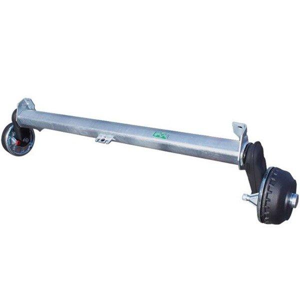 Osie cu frână AL-KO 1800 kg A1600 5x112 TT