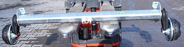 Osie cu frână pentru remorci AL-KO 1350 kg A1100 C1500 5x112