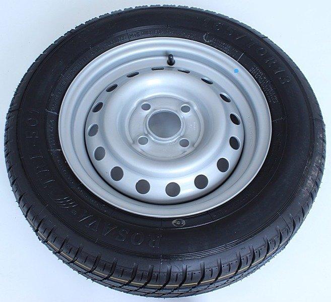 Roată de shimb 165/70 R13 pentru remorci auto Rosava