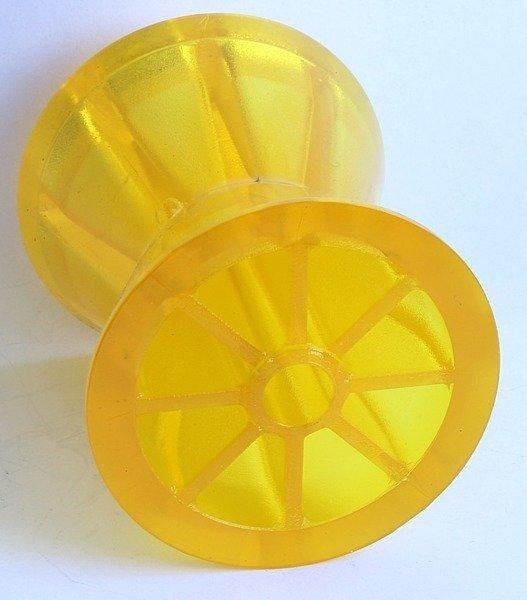 Rolă proră galbenă PVC Knott - pentru remorci de transport ambarcațiuni