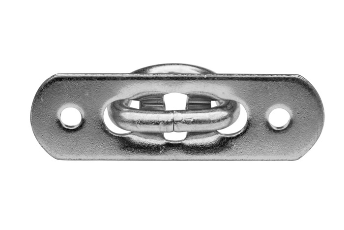 SET: 100 x Ochet obloane flexibil din oțel galvanizat H-25 mm (12.25)