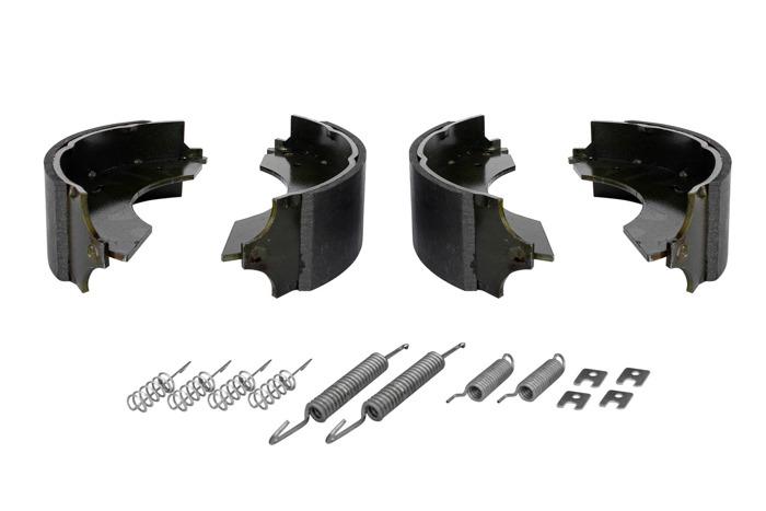 Saboți de frână pentru osie AL-KO 230x60 cu set de arcuri UNITRAILER