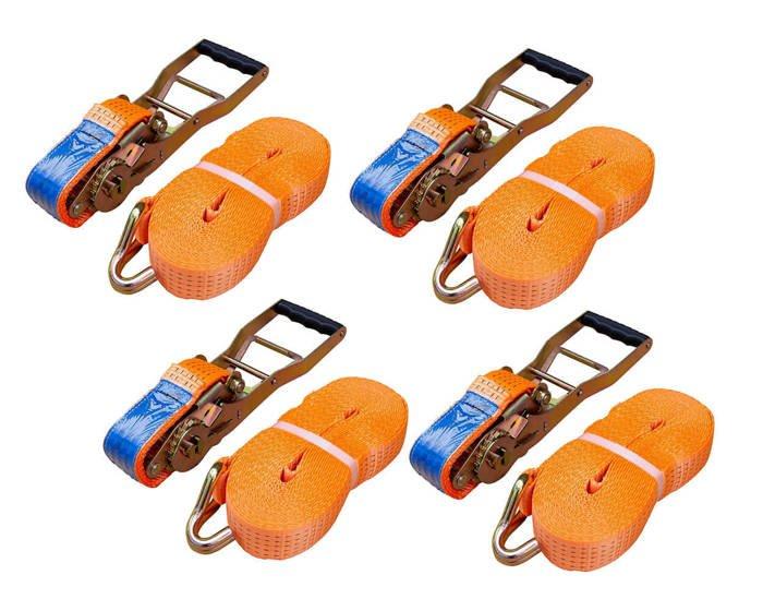Set:Chingă de ancorare cu clichet ERGO 10 m/50 mm/5 t