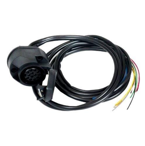Wiązka elektryczna uniwersalna WUD-07 z gniazdem 13-PIN bez modułu